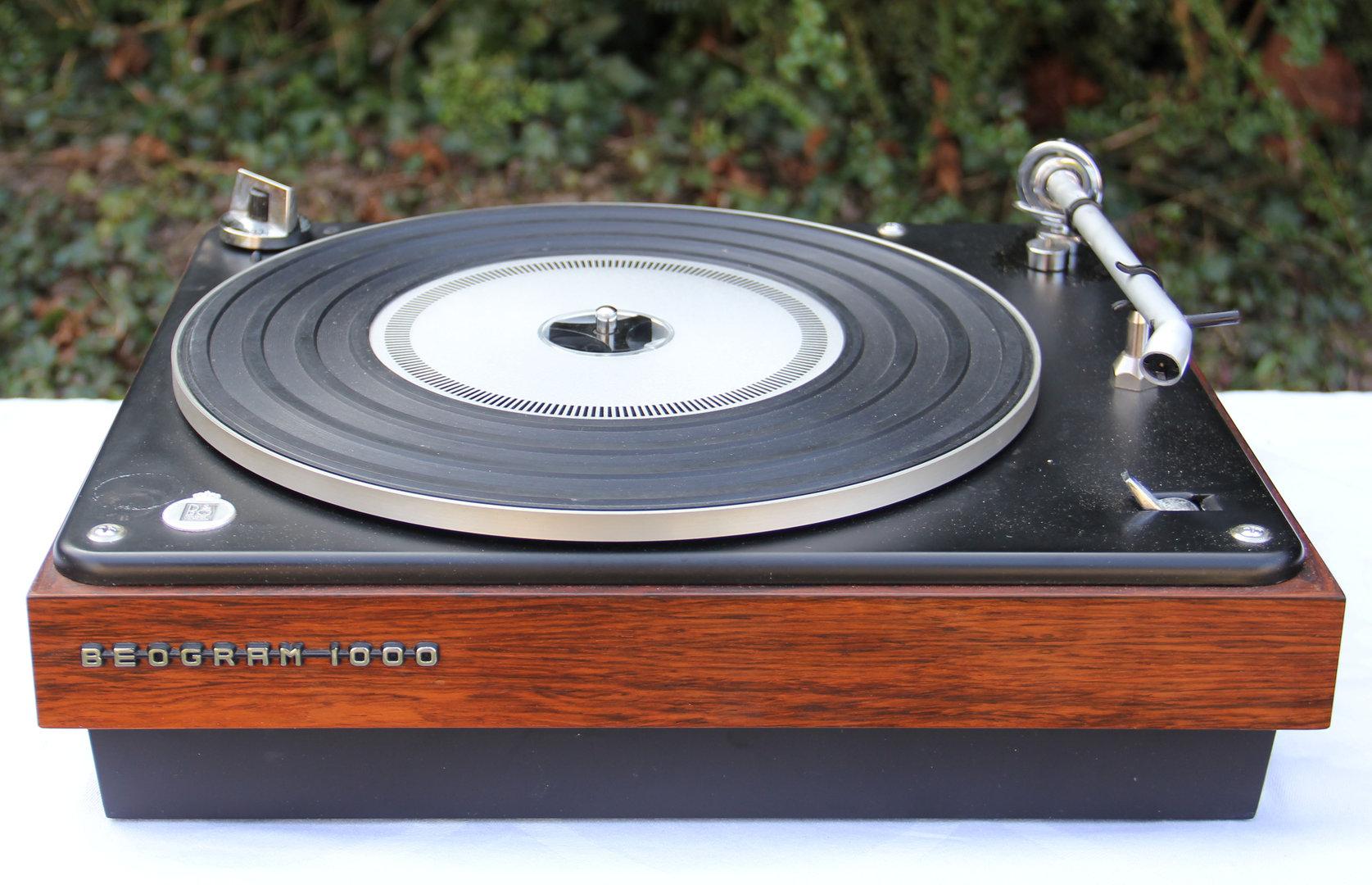 bang et olufsen beogram 1000 audiolegend. Black Bedroom Furniture Sets. Home Design Ideas